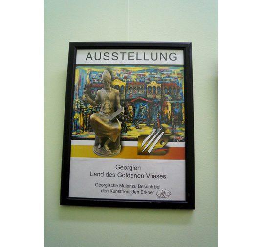 Georgien - Ausstellung im Rathaus Müncheberg