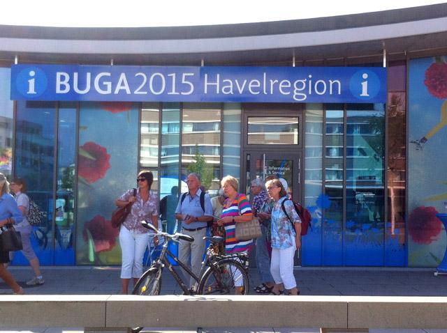 Besuch der Buga